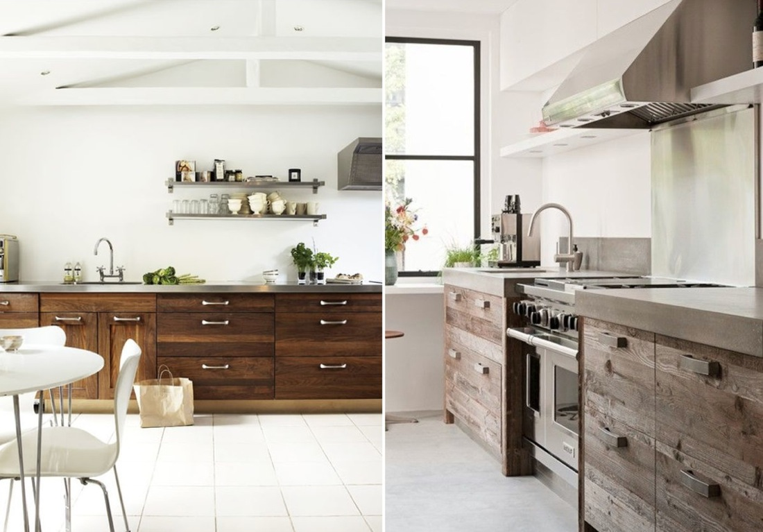 Kitchen Interior Design: Kitchen Design Ideas With Recycled Timber Doors